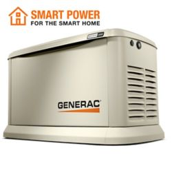 Generac 22,000W (LP)/19,500W (NG) Air Cooled Standby Generator