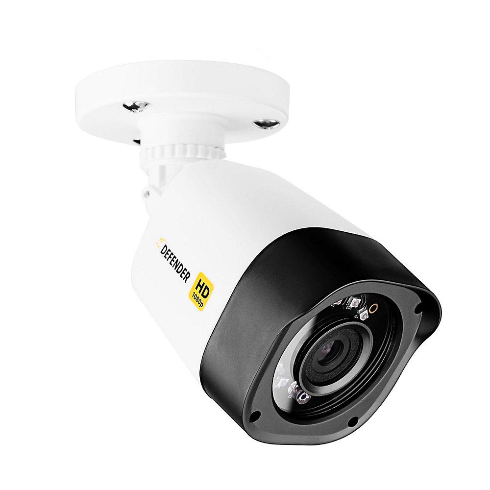 HD 1080p Intérieur/Extérieur Vision nocturne longue portée Caméra de sécurité à balles à vision nocturne longue portée
