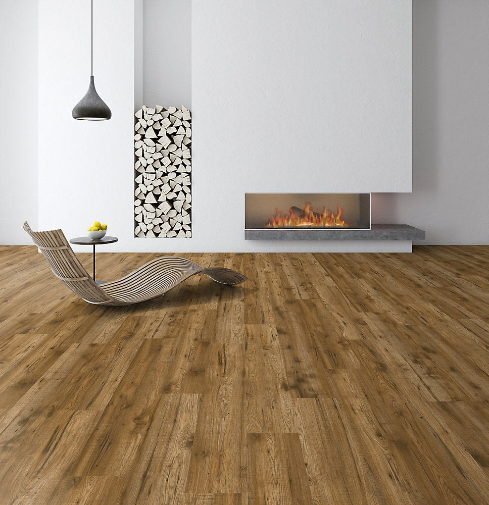 12mm Truswell Hickory Flooring (16.57 sq.ft. / case)