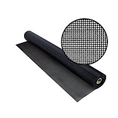 TuffScreen No-See-Um 48 Inchx50 Feet Black