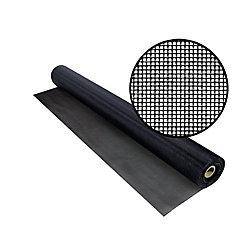 Phifer TuffScreen No-See-Um 60 Inchx50 Feet Black