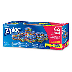 One Press Seal Containers (44-Pack)