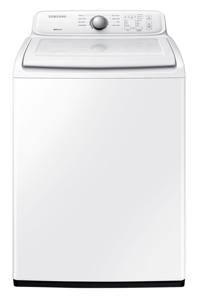 Laveuse à chargement vertical blanche de 4,9pi. cube - WA40J3000AW