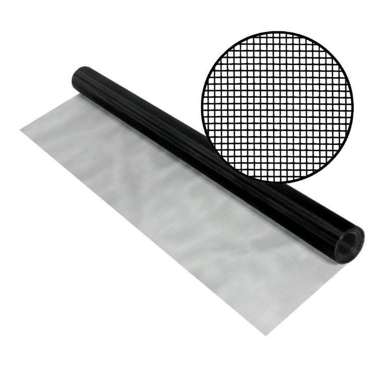"""SeeVue en acier noir inoxydable 48"""" x 50'"""