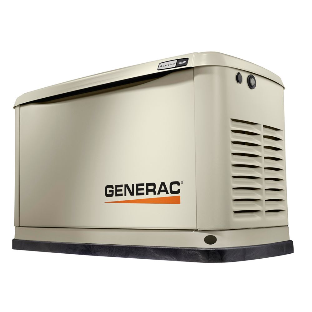 Generac 16000W LP/NG Air Cooled Standby Generator with Wi-Fi
