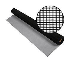 Aluminum Screen Black 30 Inch x 100 Feet