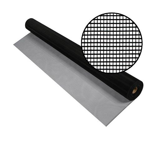 Phifer Aluminum Screen Black 30 Inch x 100 Feet