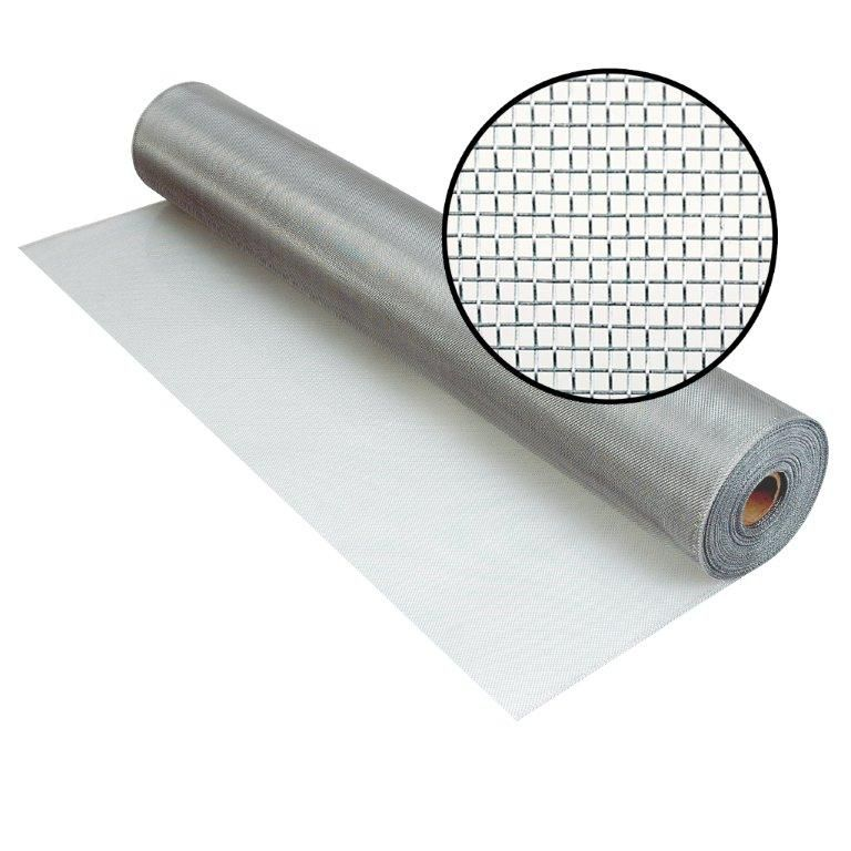 "Moustiquaire Brite en aluminium 30""x100'"
