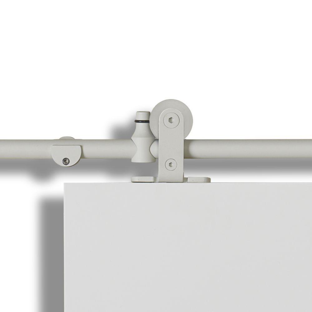 Colonial Elegance Mini-Loft Rail System White