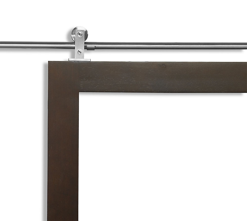 Colonial Elegance Loft Rail System Stainless Steel 78 Inch The