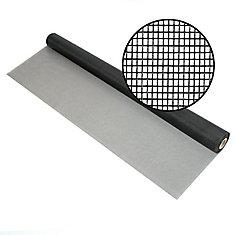 Fiberglass Screen 18x14 mesh Charcoal 96 Inch X100 Feet
