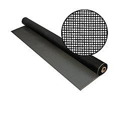 Fiberglass Screen 20x20 Mesh Charcoal 36 Inch x25 Feet