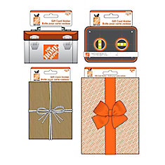 Home Depot Canada 64 Unit Gift Card Holder Display