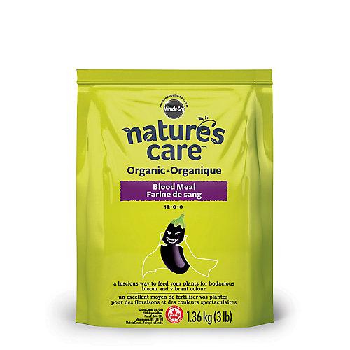 Farine de sang organique Nature's Care, 1,36 kg