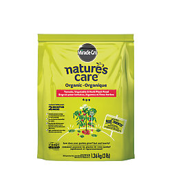 Miracle-Gro Nature's Care Organic and Natural Vegetable, Fruit and Flower Food, 1.36kg