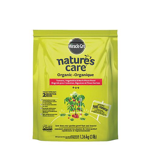 Engrais organique et naturel pour légumes, fruits et fleurs Nature's Care, 1,36 kg