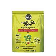 Nature's Care Organic and Natural Vegetable, Fruit and Flower Food, 1.36kg