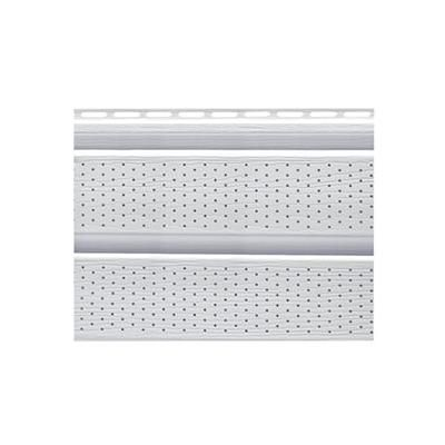 16 Inch. Perforated Soffit - White