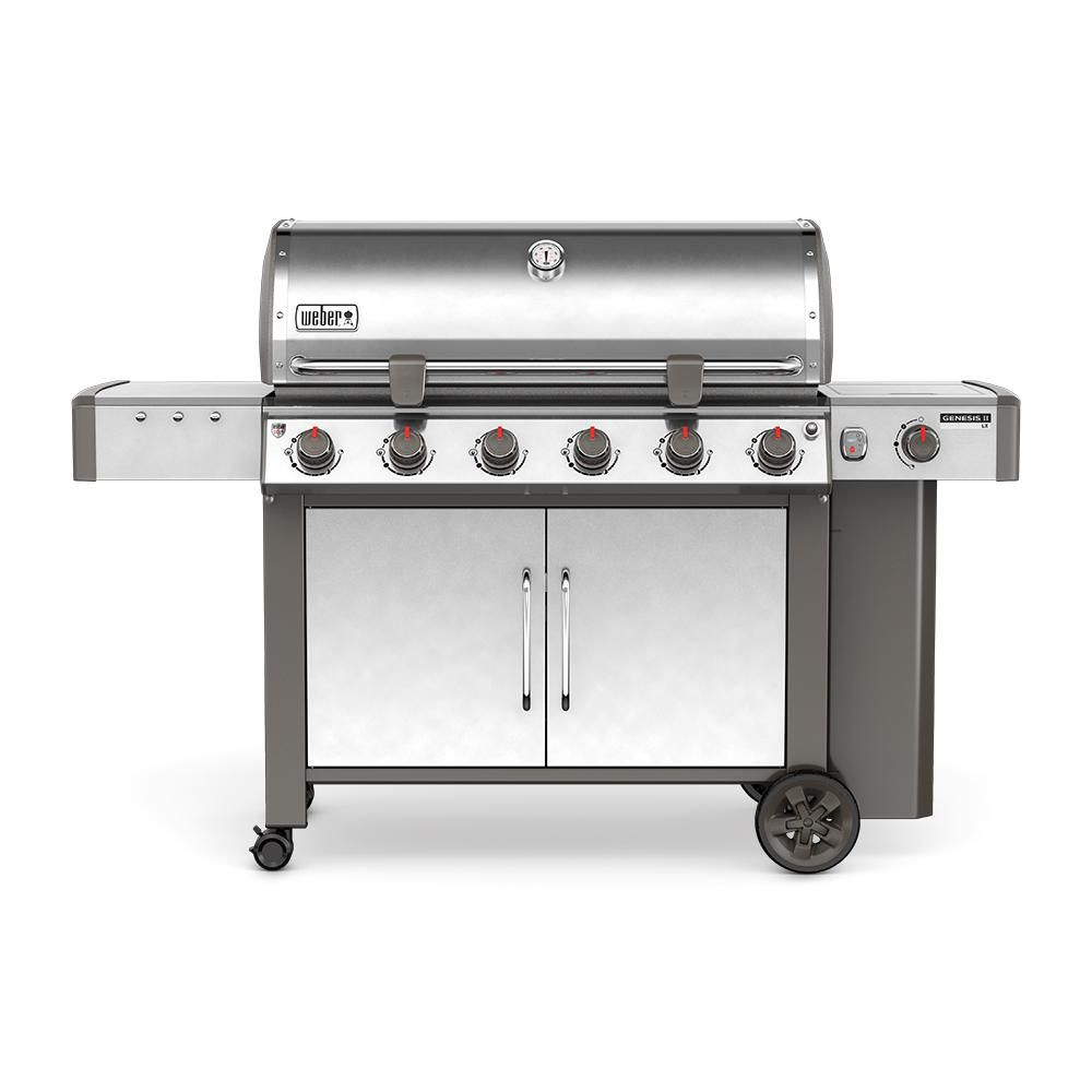 Weber Genesis II LX S-640 6-Burner Propane BBQ in Stainless Steel