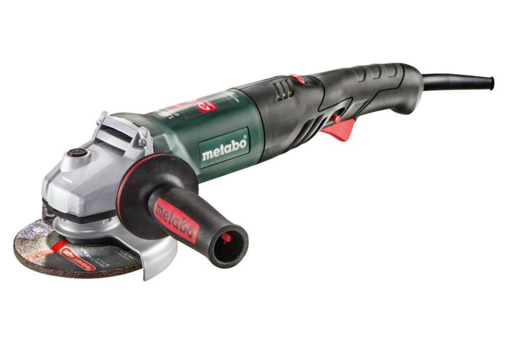 Wev 1500-125 Rt, 5 Inch Rat Tail Angle Grinder