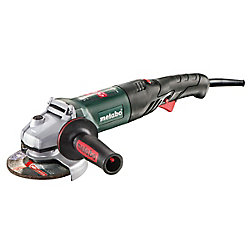 Metabo Wev 1500-125 Rt, 5 Inch Rat Tail Angle Grinder