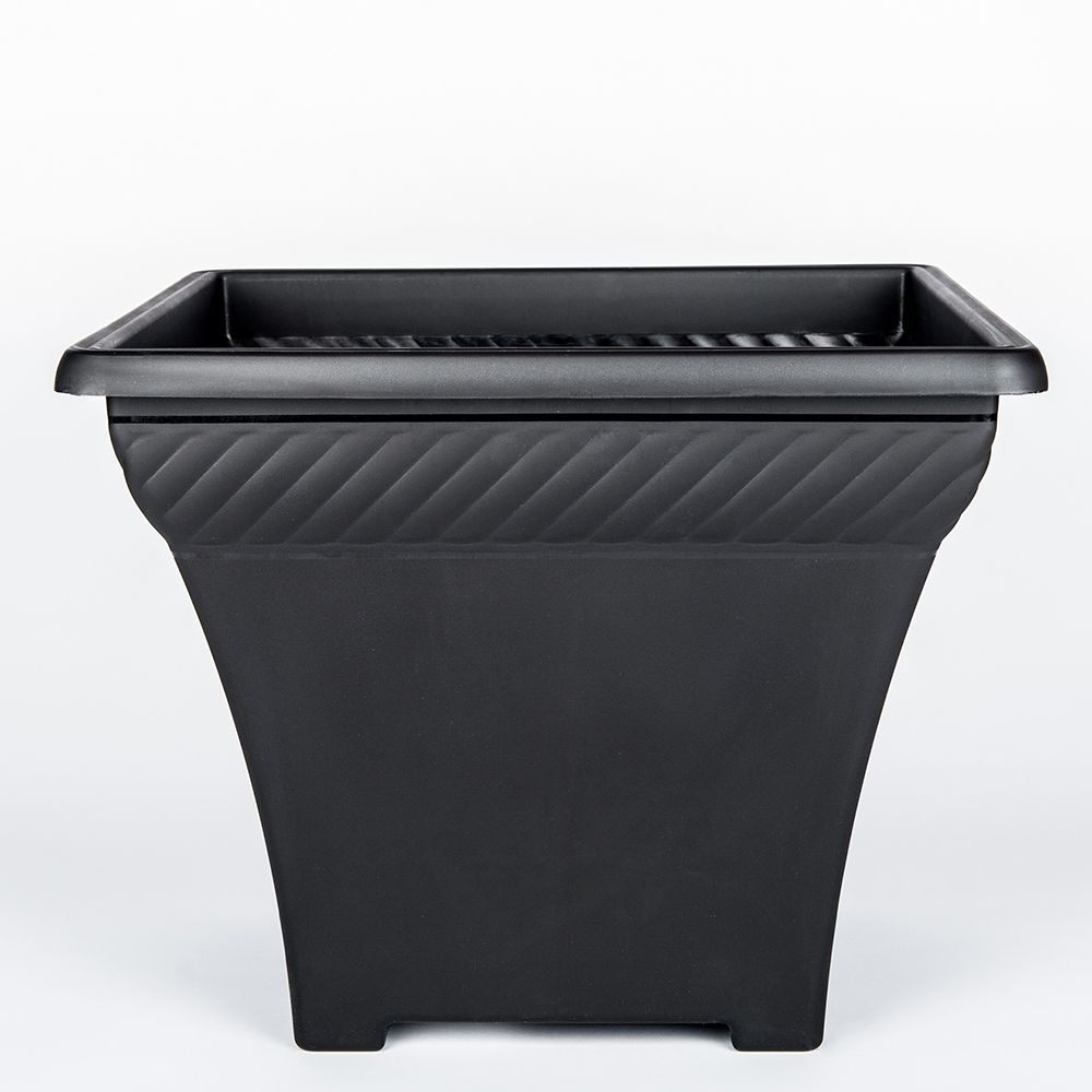 rectangular furnitures box black planters kienandsweet build the planter