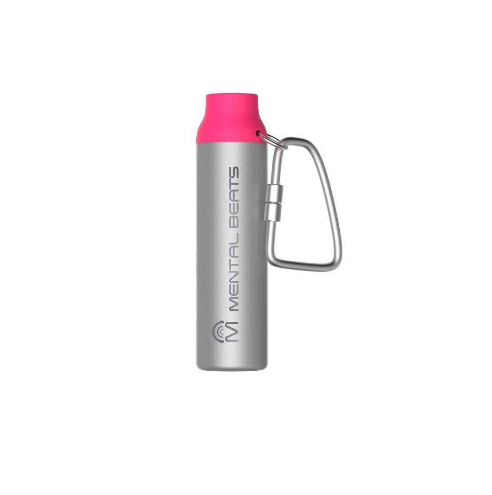2200mAh Aluminum Carabiner Power Bank - Pink