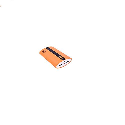 6.6 Ap Universal Dual Usb Port Power Bank Neon Orange