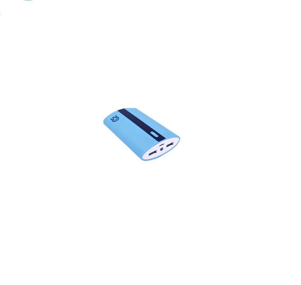 Mental Beats(MC) Source dAlimentation 6.6 Amp à 2 Ports USB - bleue