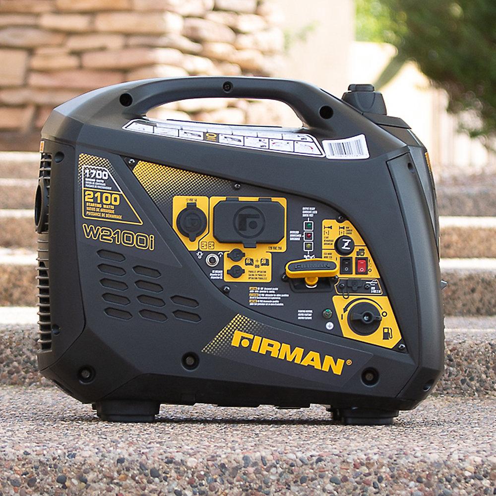 2100/1700 watts Génératrice portative  par recoil assemblée certifiée cETL et CARB