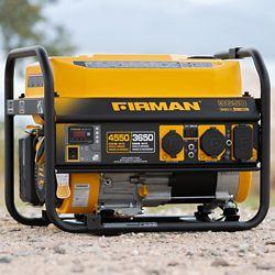 Firman Generators 4550/3650 Watt 120/240V 30A Groupe électrogène portable à essence Recoil Start Certifié cETL