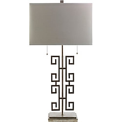 Art of Knot Alessandro 32 x 16 x 10 Table Lamp