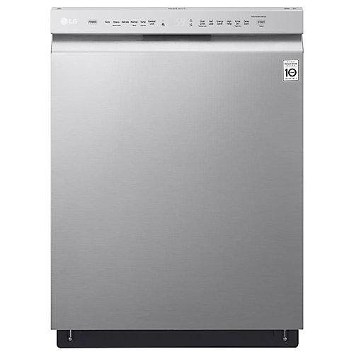 Lave-vaisselle à commande frontale de 24 po avec cuve en acier inoxydable en acier inoxydable - ENERGY STAR®