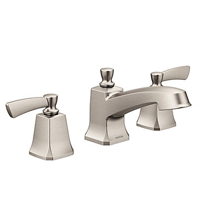 widespread handle bathroom moen faucet series two faucets to kingsley nickel enlarge click brushed