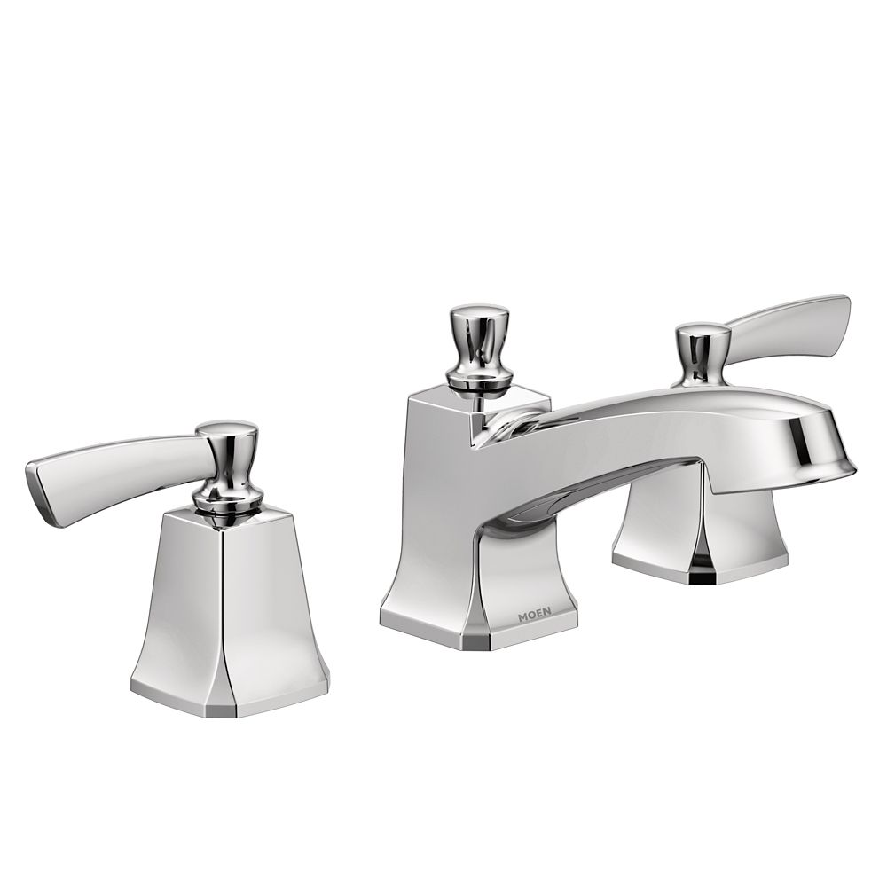 Chromed Bathroon Sink Faucet With Temperature Control: Moen Conway Single-Handle Posi-Temp Bath/Shower Faucet In