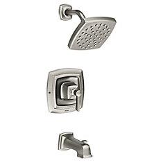 Conway  Single-Handle Posi-Temp Bath/Shower Faucet in Spot Resist  Brushed Nickel