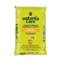 Miracle Gro Nature's Care Organic and Natural Potting Mix with Water Conserve(TM) 0.15-0.10-0.15, 28.3L