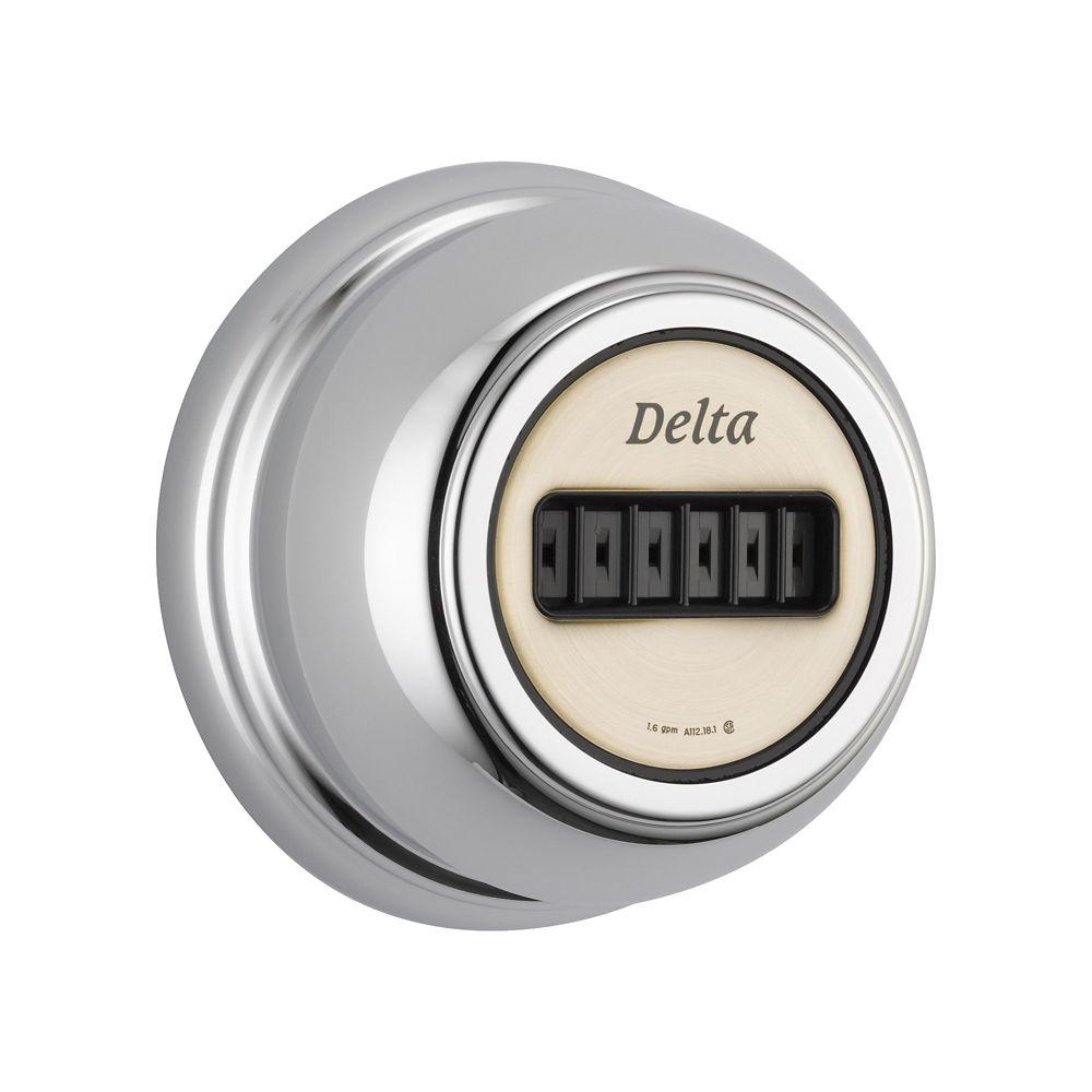 Delta H2Okinetic Body Spray, Chrome