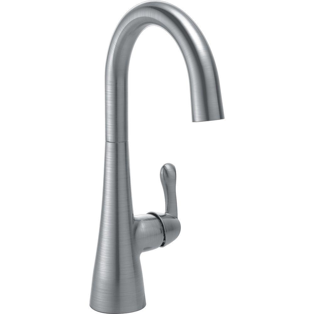Single Handle Bar/Prep Faucet, Arctic Stainless