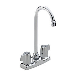 Two Handle Blade Bar/Prep Faucet, Chrome