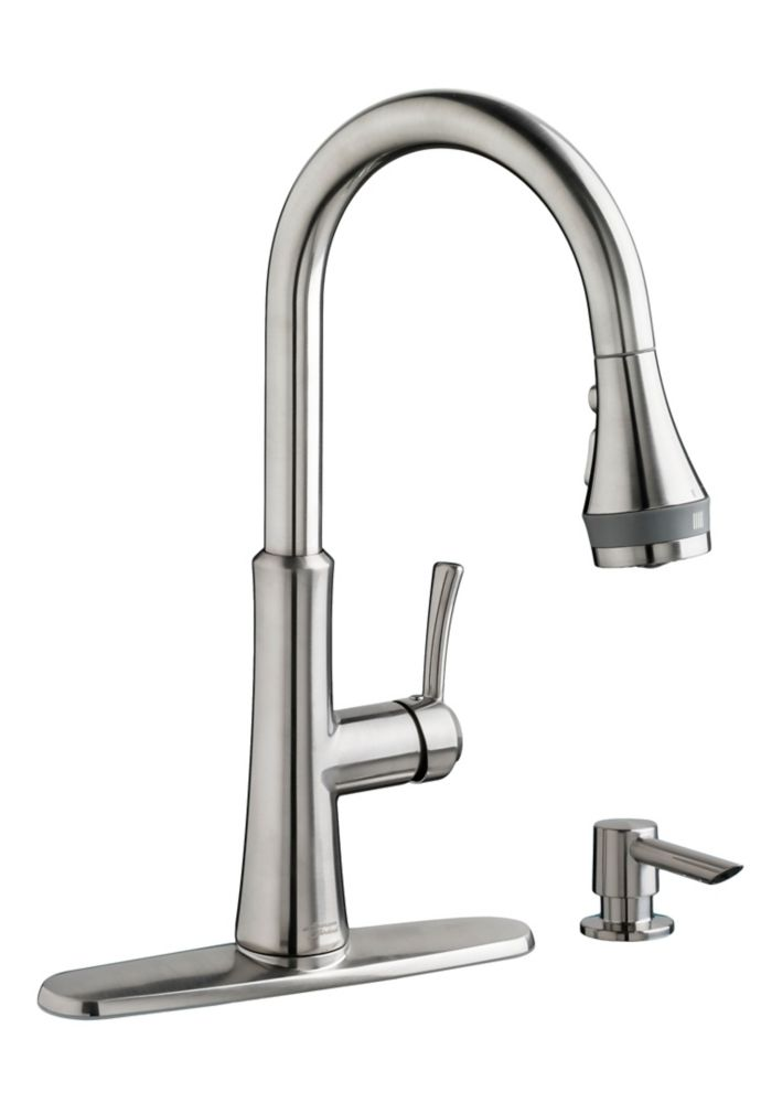 American Standard Huntley Pull-Down Kitchen Faucet With Selectflo
