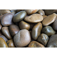 9.07kg Mixed Polished Pebbles