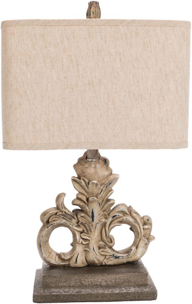 Zephyr 25 x 15 x 9 Table Lamp