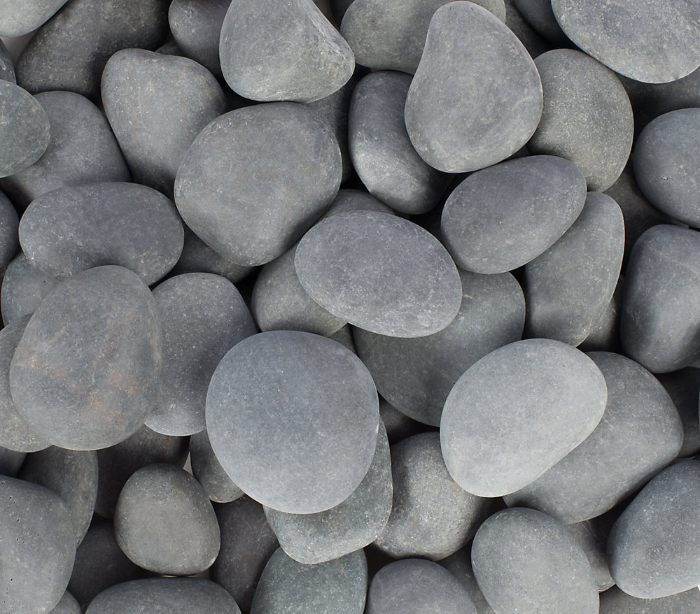 Vigoro 9 07kg Grey Beach Pebbles The Home Depot Canada