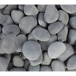 Vigoro 9.07kg Grey Beach Pebbles
