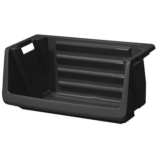 HUSKY 31.25-inch Stackable Open Storage Bin
