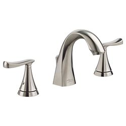 American Standard Chatfield Widespread (8-inch) 2-Handle High Arc Bathroom Faucet in Brushed Nickel with Lever Handles