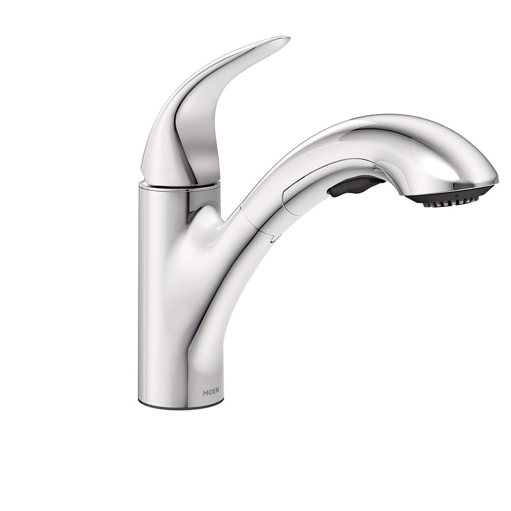 Moen Banbury 2 Handle Kitchen Faucet Chrome Finish The Home Depot Canada