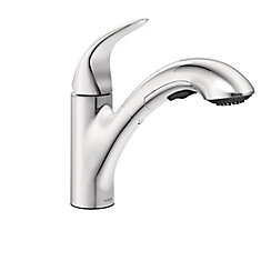 Medina Single-Handle Pullout Kitchen Faucet in Chrome