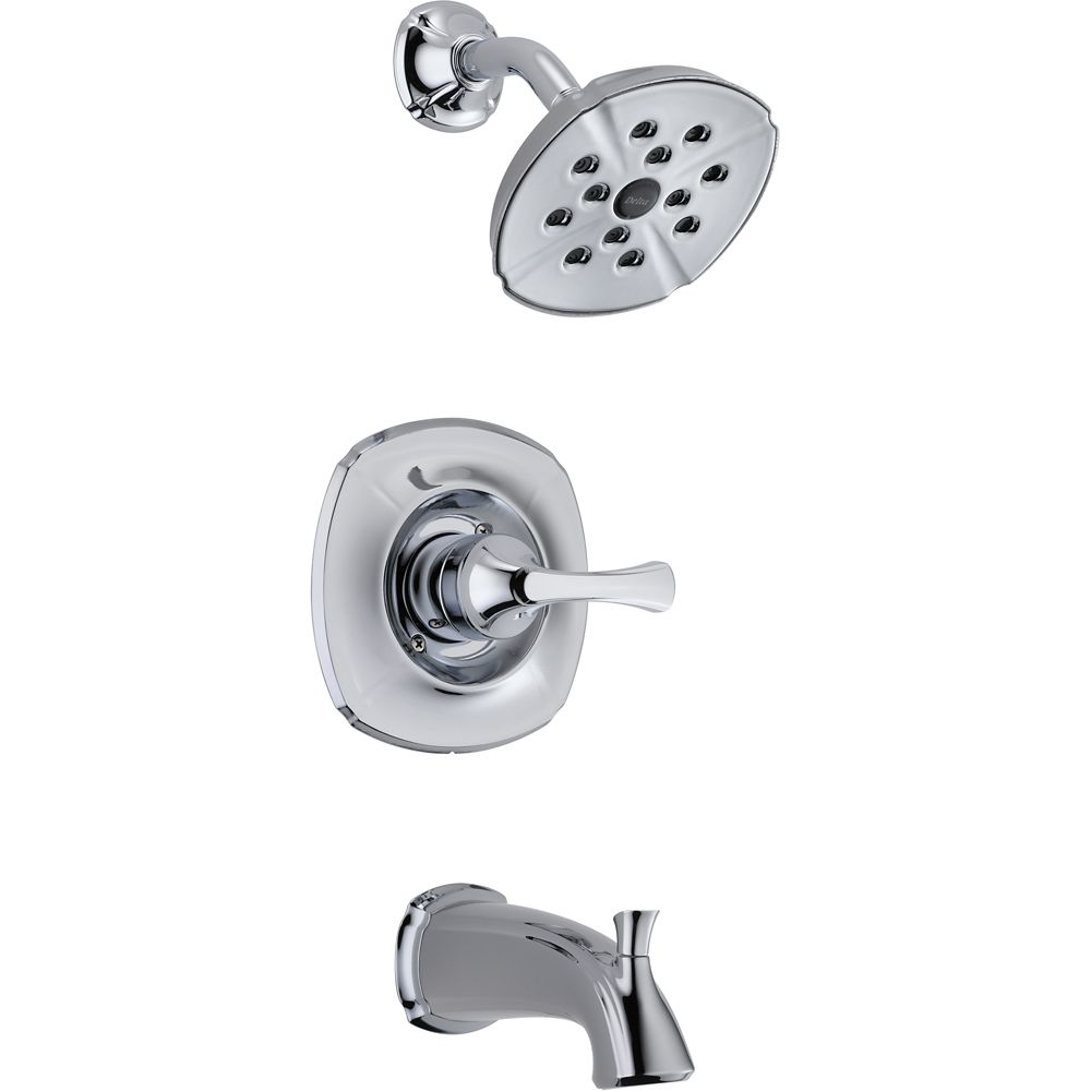 Addison Monitor 14 Series Tub And Shower Trim, Chrome